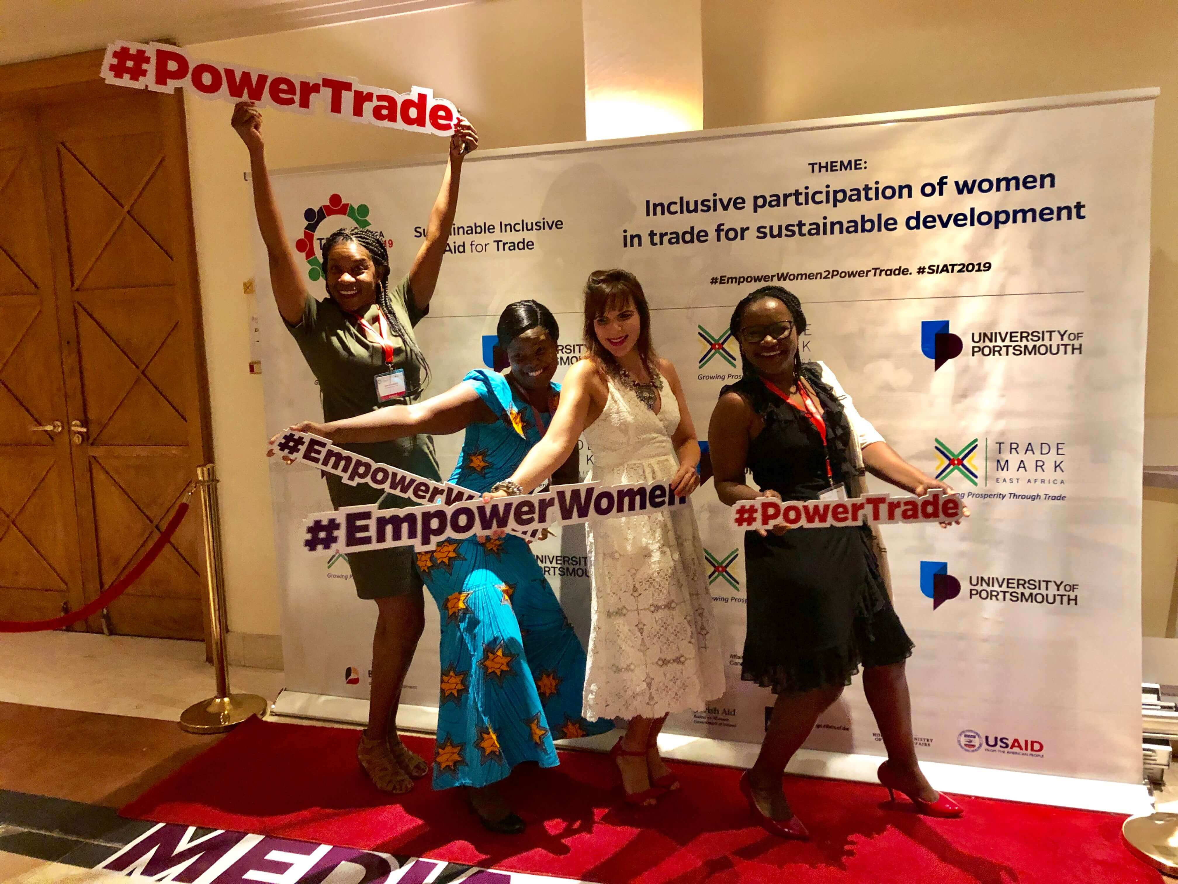 IMPROVING GENDER EQUALITY IN TRADE AS A WAY OF AIDING DEVELOPMENT