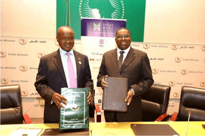 AU, TradeMark EA sign partnership to boost intra-African trade and Continental Free Trade Area