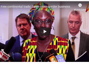 Free continental trade: Open cross-border business